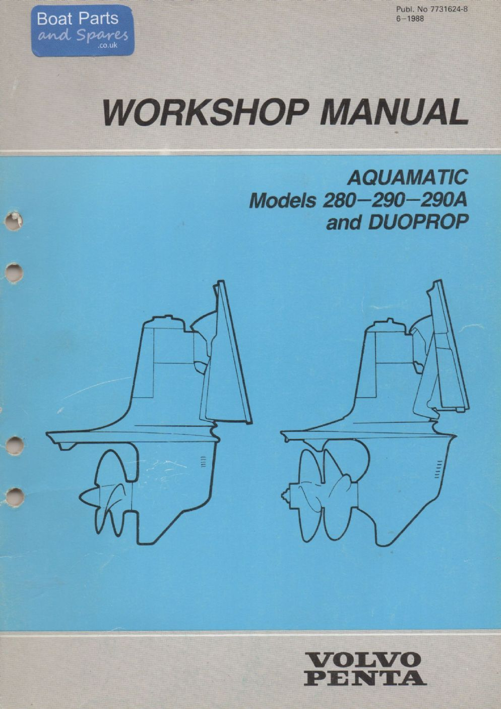 Volvo Penta Manual A And Duoprop P