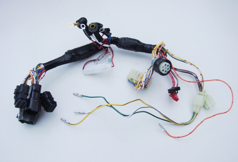 yanmar panel harness 129574-91852 raytheon wiring harness