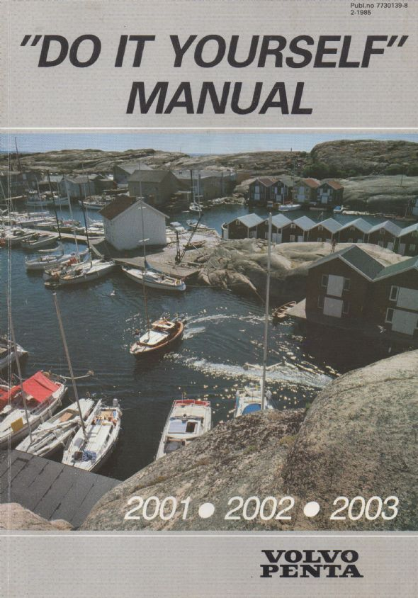 paperback diy manual for volvo penta 2001 2002 2003 engines rh boatpartsandspares co uk manuel atelier volvo penta 2003 volvo penta 2003 marine diesel manual