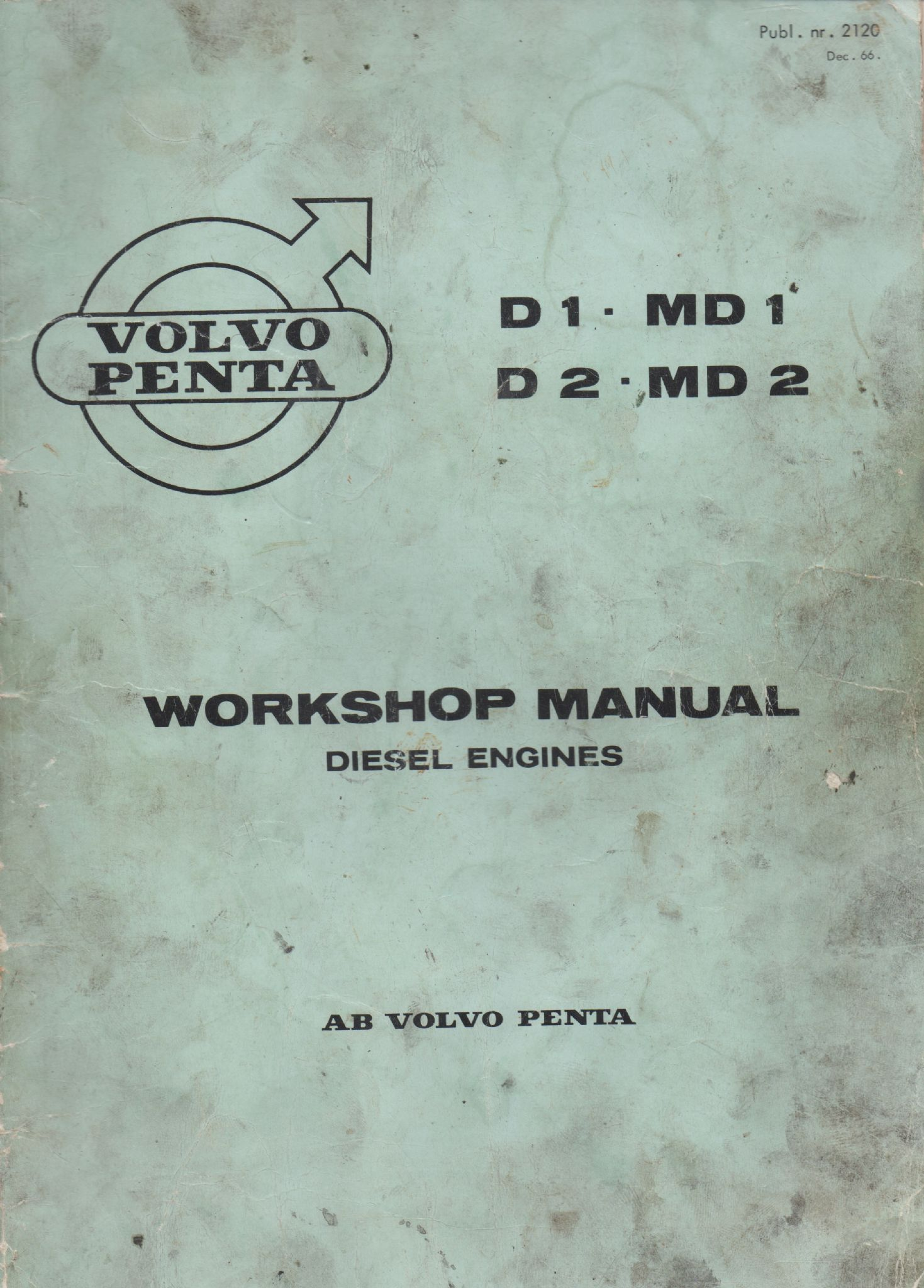 volvo penta workshop manual md1 md2 rh boatpartsandspares co uk
